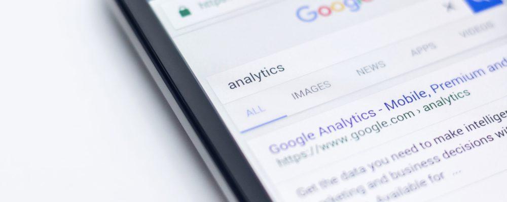 google analytics iPhone