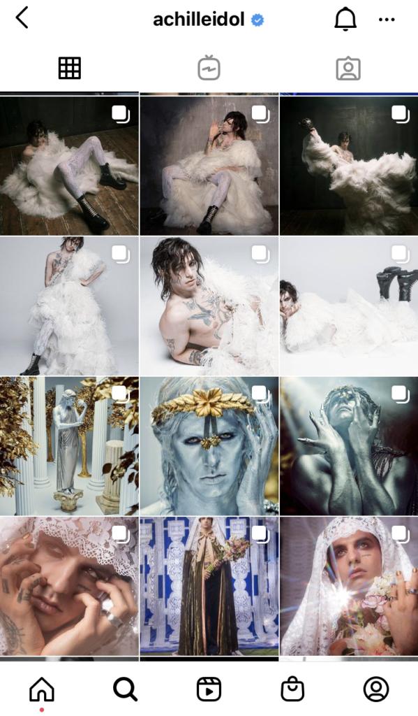 AchilleLauro-Instagram-Sanremo